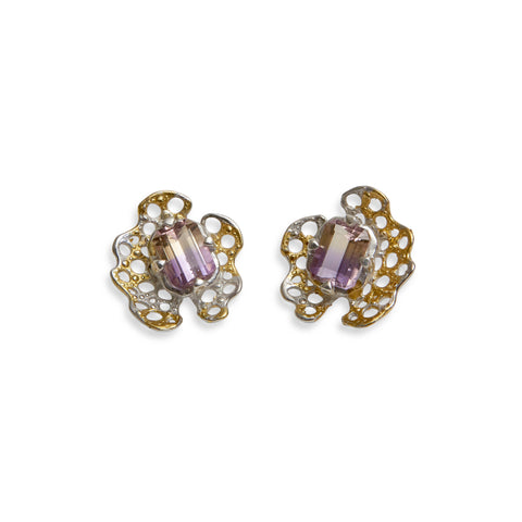 Beneath the Surface Ametrine Earrings