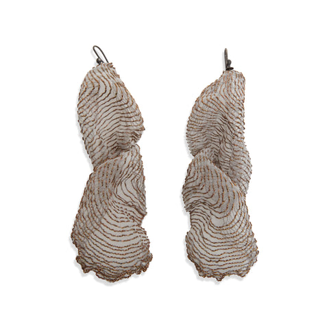 Gossamer Earrings by Michaela Pegum