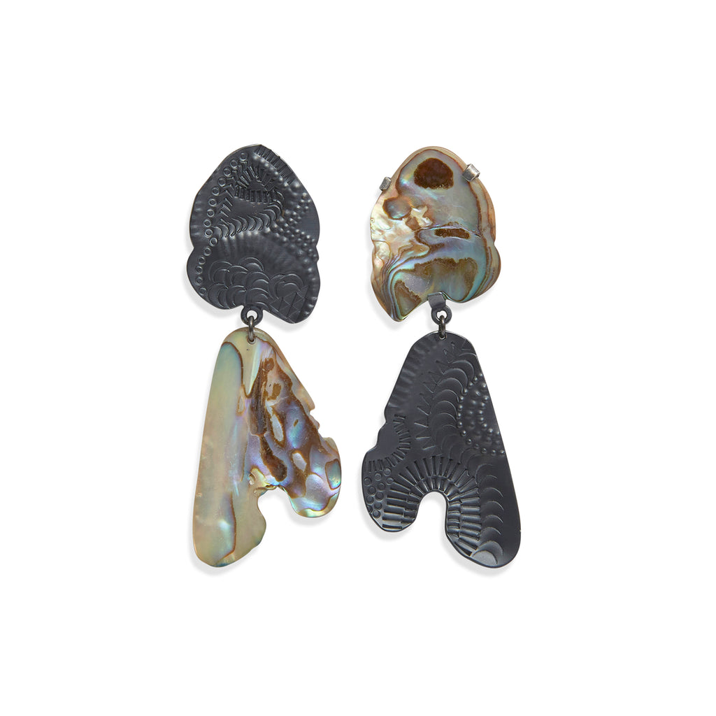 Iridescent Escapade Drop Earrings
