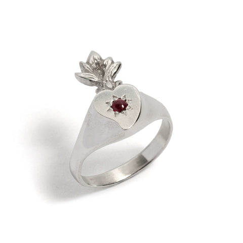 Bleeding Heart Ring