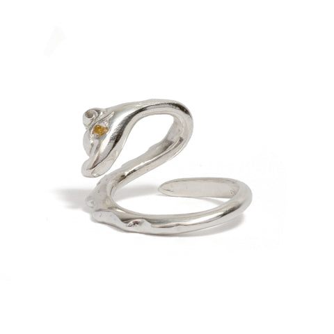 Serpenti Ring by Anna Marrone