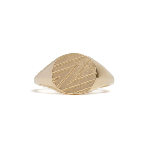 ZZZ Ring by Anna Marrone