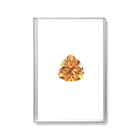 Citrine Gem Illustration by Anna Marrone