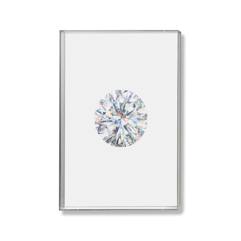 Diamond Gem Illustration by Anna Marrone