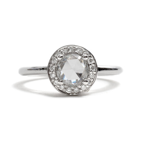 Round Rosette Ring by Anna Sheffield
