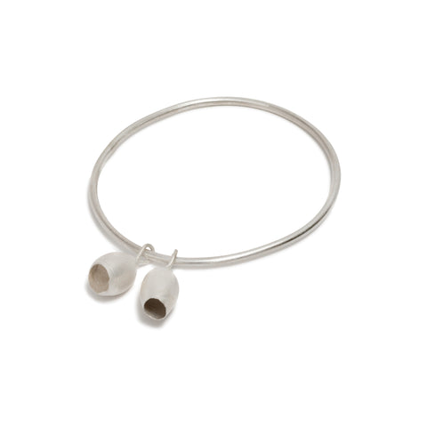 Pod Charms Bangle by Belinda Esperson