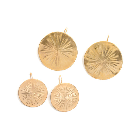Aster Disc Earrings