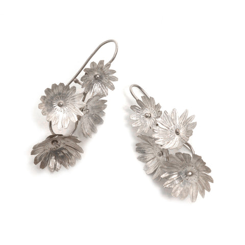 Fiori Four-Flower Earrings by David Neale