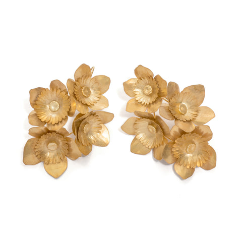 Four Fiori Springtime Grande Earrings by David Neale