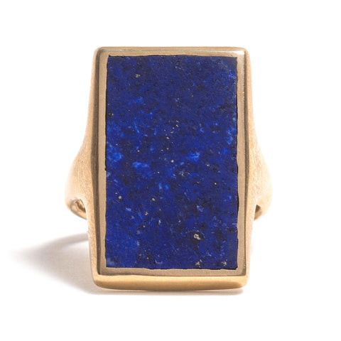 Golden Ratio Lapis Lazuli Ring by David Neale