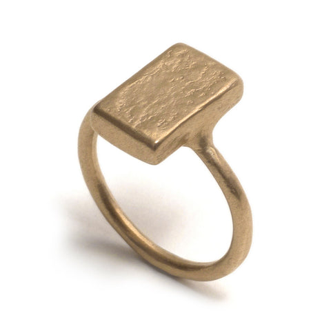 Golden Ratio Yellow Gold Ring