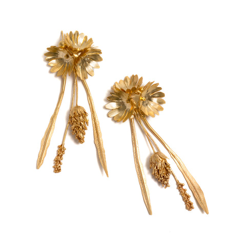 Meadow Fiori Earrings by David Neale