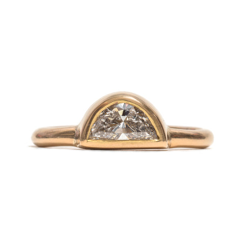 Newen Days Yellow Gold and Diamond Ring by David Neale