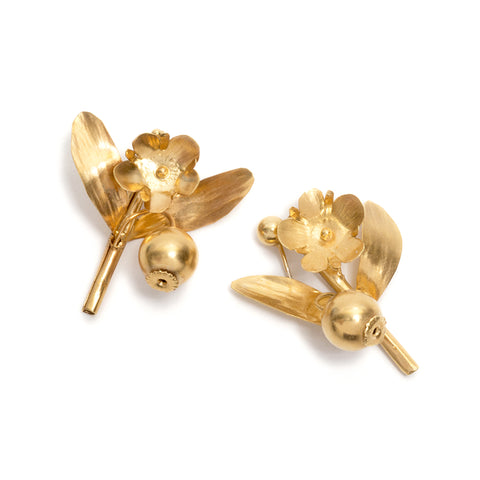 Sprig Earrings by David Neale