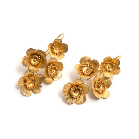 Springtime Fiori Earrings by David Neale