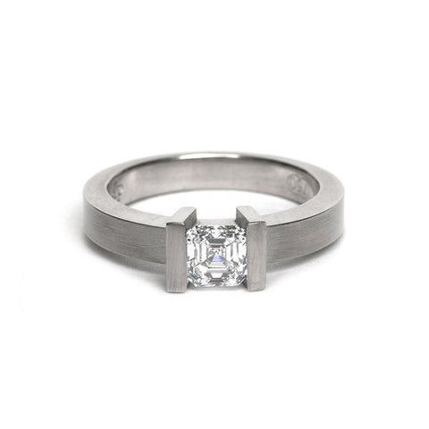 Asscher Ring by David Parker