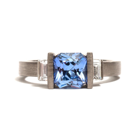 Deco Radiant Ring by David Parker