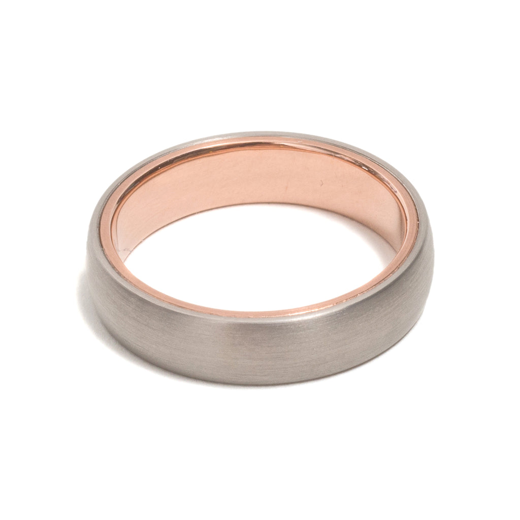 Heart of Rose Gold Ring