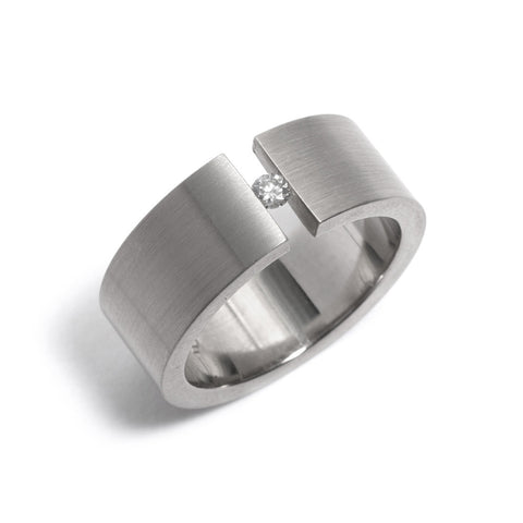 Tension Diamond Ring