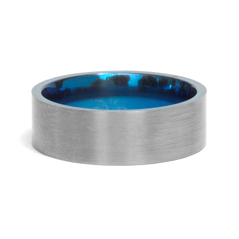 Titanium Ring by David Parker