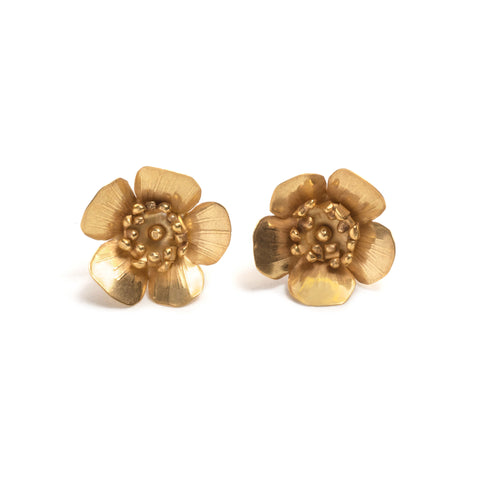 Springtime Fiori Stud Earrings by David Neale
