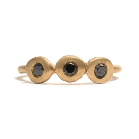 Black Diamond Transformations Ring