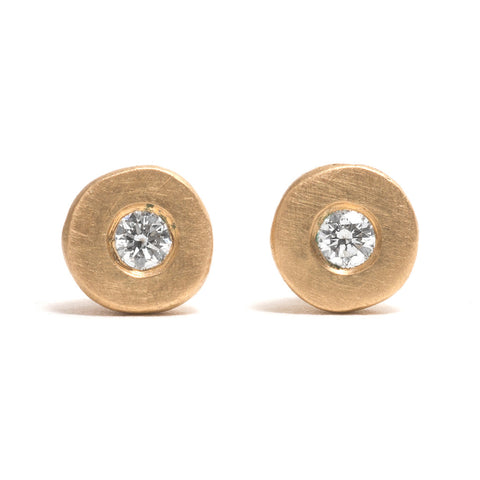 Solitaire Diamond Transformations Earrings by Djurdjica Kesic