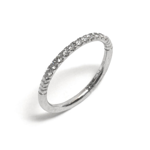 Flourish Diamond Wedding Ring
