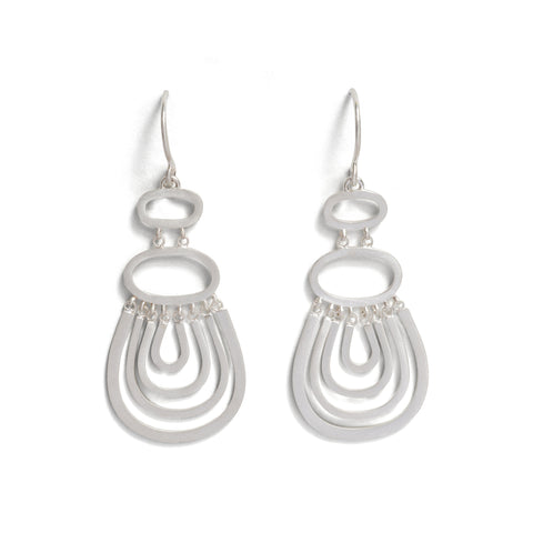Shift Stream Hook Earrings