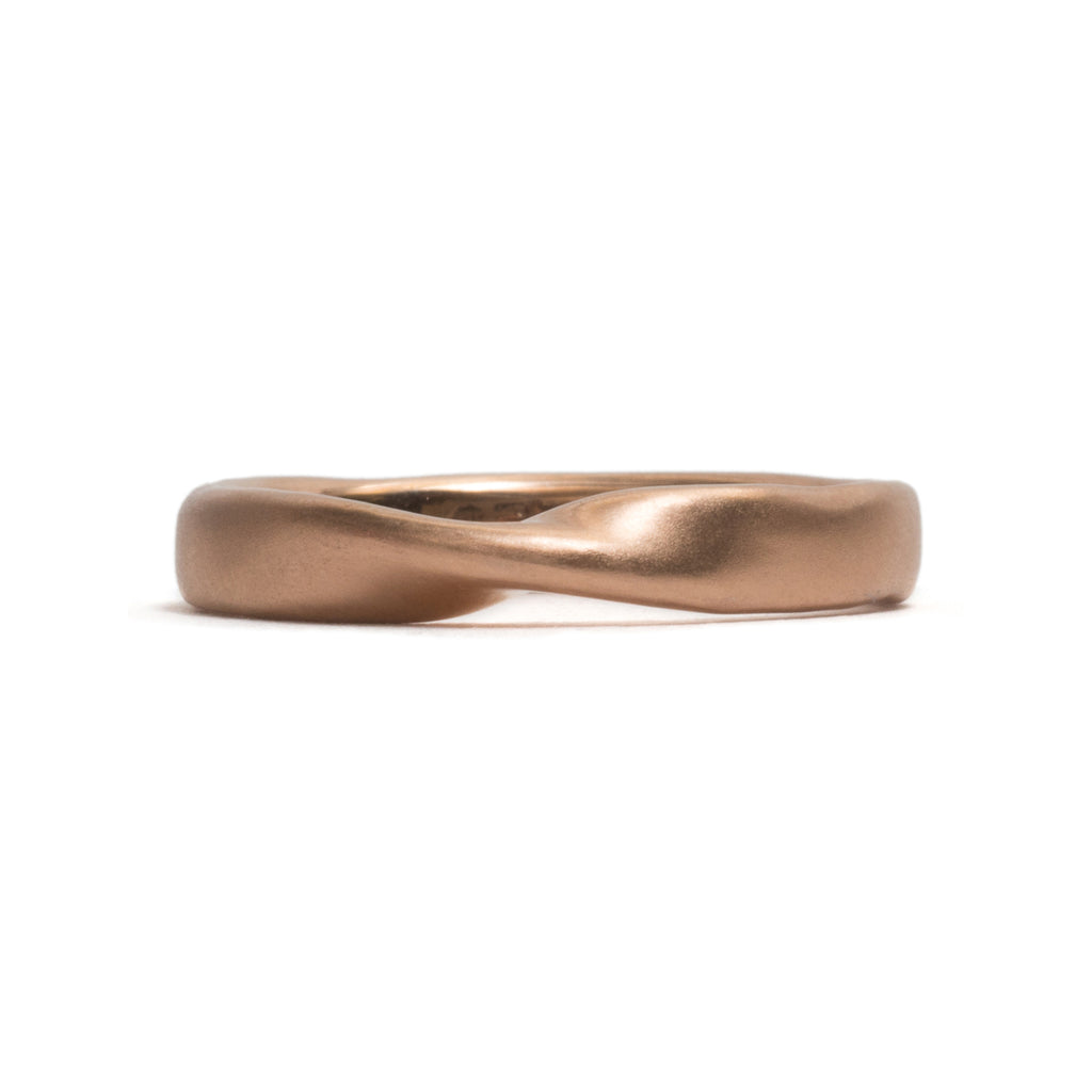 Turning Point Wedding Ring