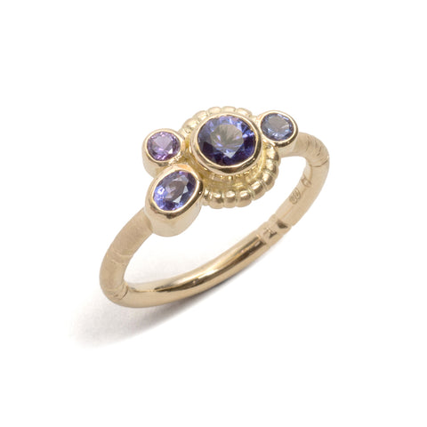 Violet Field Horizon Ring