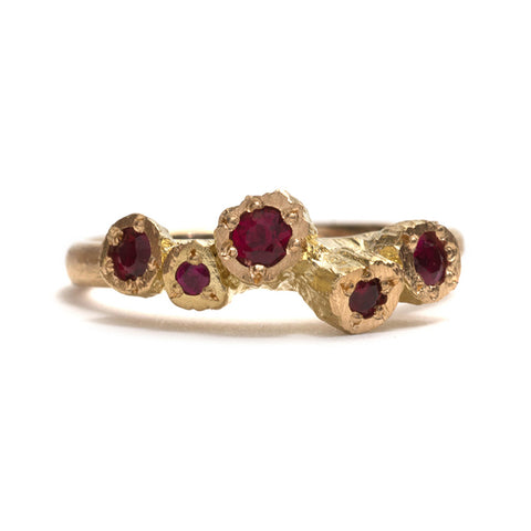 Ruby Rocks Ring by Karla Way