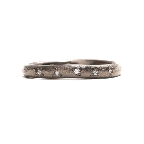 Scattered Stones Diamond Ring