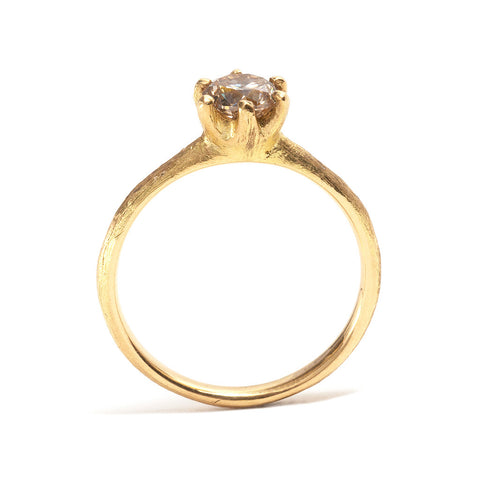 Stone Love Diamond Solitaire Ring