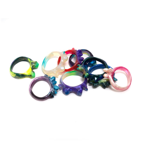 Multicoloured Crystal Bangle
