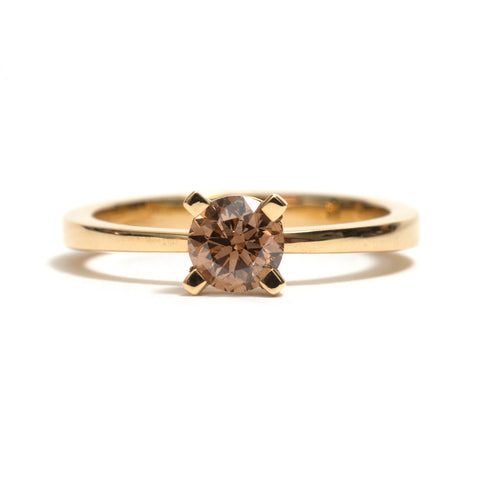Australian Solitaire Diamond Ring by Kieran Jackson