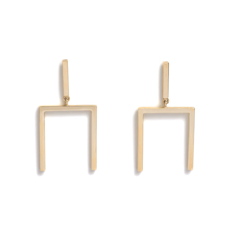 Folk Drop Stud Earrings by Kieran Jackson