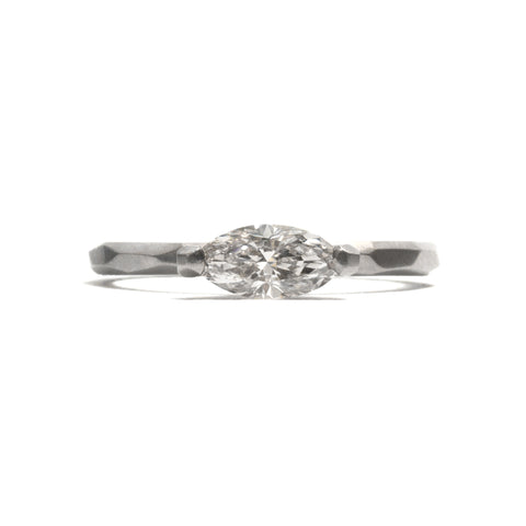 Champagne Diamond Marquise Ring by Krista McRae