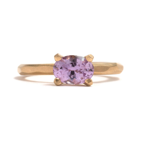 Pink Sapphire Soul Ring by Krista McRae