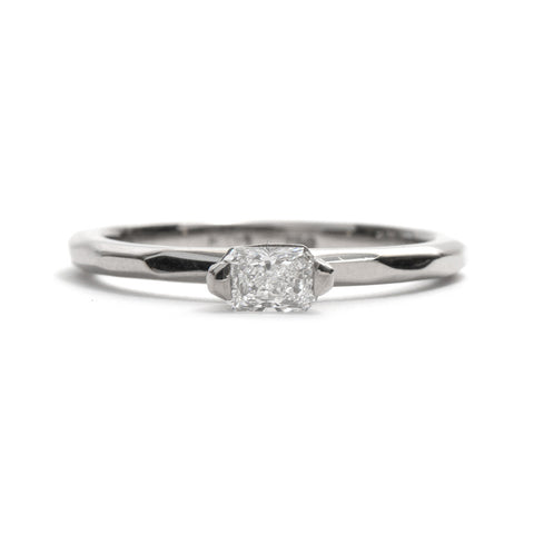 Radiant Diamond Soul Ring