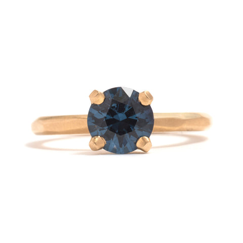 Spinel Solitaire Soul Ring