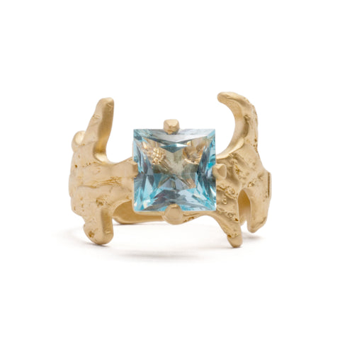 Club Cut Topaz Cocktail Ring by Lisa Roet