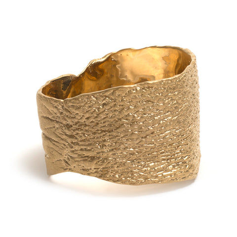 Gorilla Skin Statement Bangle