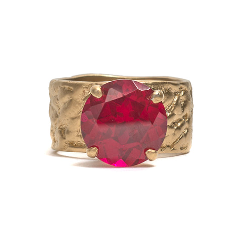 Royal Orangutan Skin Ring by Lisa Roet