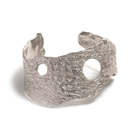 Orangutan Skin Cuff Bangle