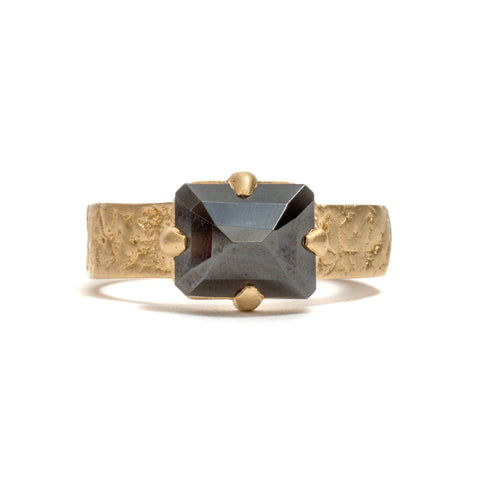 Orangutan Skin Marcasite Ring by Lisa Roet