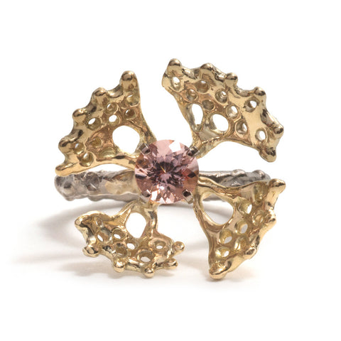 Gold Fusion Ring by Luke Maninov Hammond