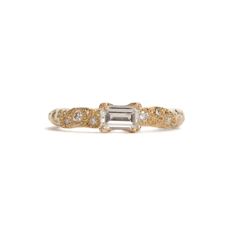 In Search Of Wonder Emerald Cut Diamond Ring