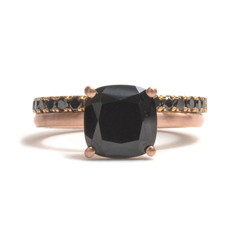 Cushion Cut Spinel Ring by Melanie Katsalidis