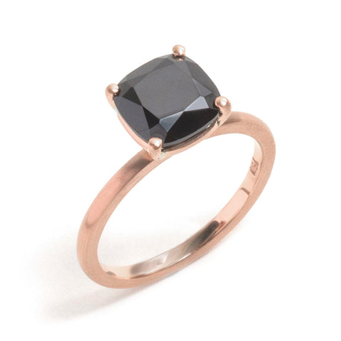 Cushion Cut Spinel Ring
